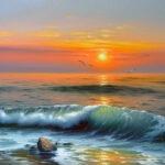 Картины с морскими пейзажами