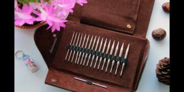Набор спиц для вязания Addi Click Lac