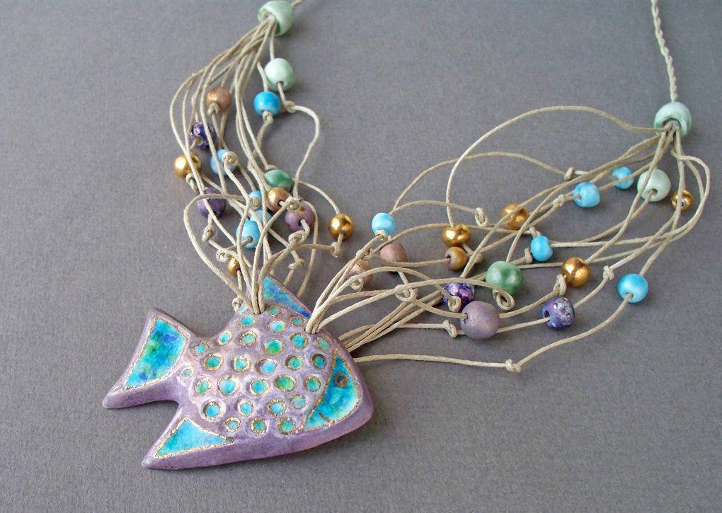 украшение в виде рыбки