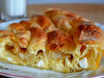 Баница болгарская - рецепт с брынзой