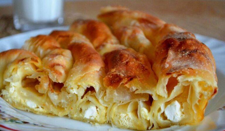 Баница болгарская — рецепт с брынзой