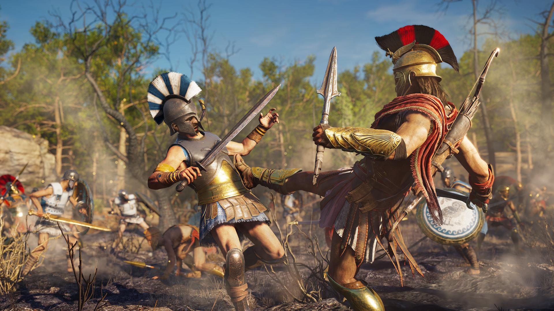 игра Assassin s Creed Odyssey