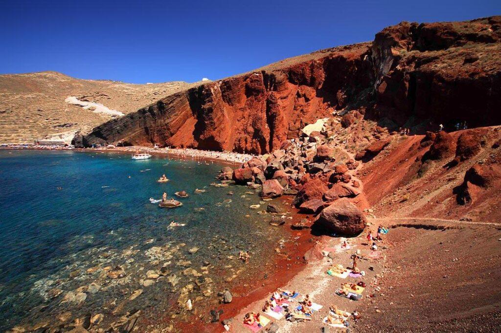 Красное побережье, Санторини, Греция