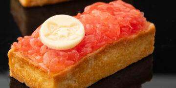 Пирожные с грейпфрутом
