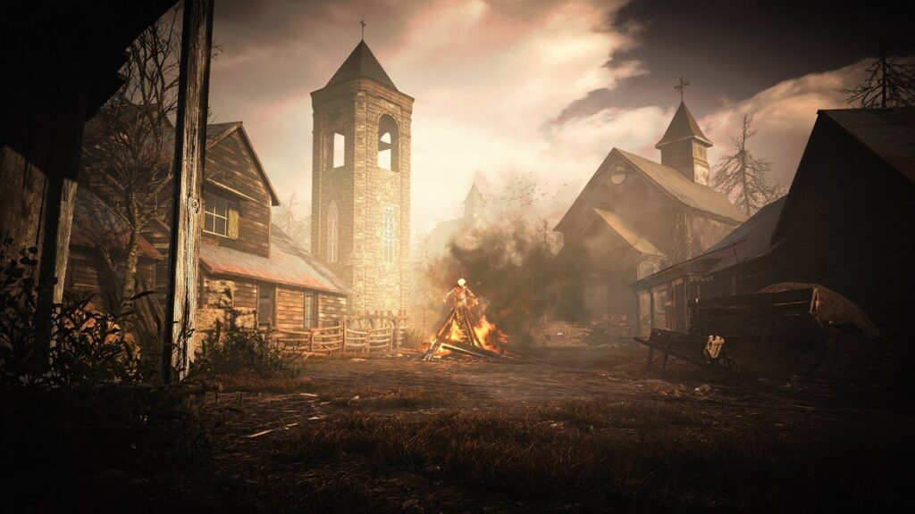 resident evil village Игровой мир