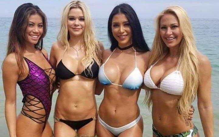 Русские девушки в бикини: фото