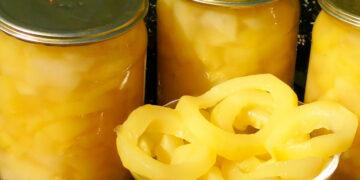 вкусные кабачки со вкусом ананаса